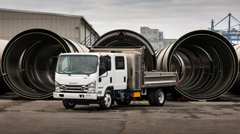 Isuzu NRR Diesel Dump Truck
