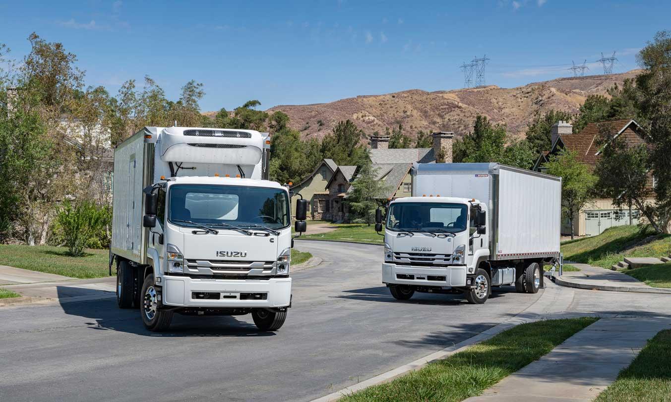 Isuzu FTR and FVR Trucks